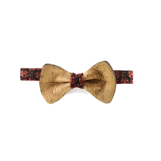 Picture of Yellow Cork Bow Tie