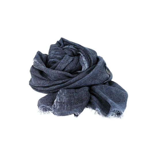 Picture of Blue & Thiny Colored Stripes Scarf