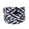Picture of Blue, Avion & Light Grey Braided Belt - 3,5 cm. wide
