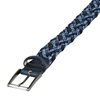 Picture of Dark Blue &  Melange Blue Braided  Belt - 3,5 cm. wide