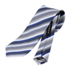Picture of Large stripes  Jacquard Silk Tie - 7 cm. wide