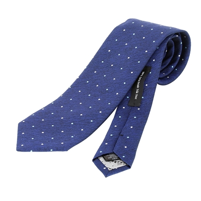 Picture of Micro dots Jacquard Silk Tie - 7 cm. wide
